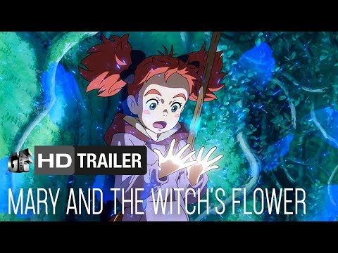 Mary and The Witch's Flower Ruby Barnhill, Kate Winslet, Jim Broadbent