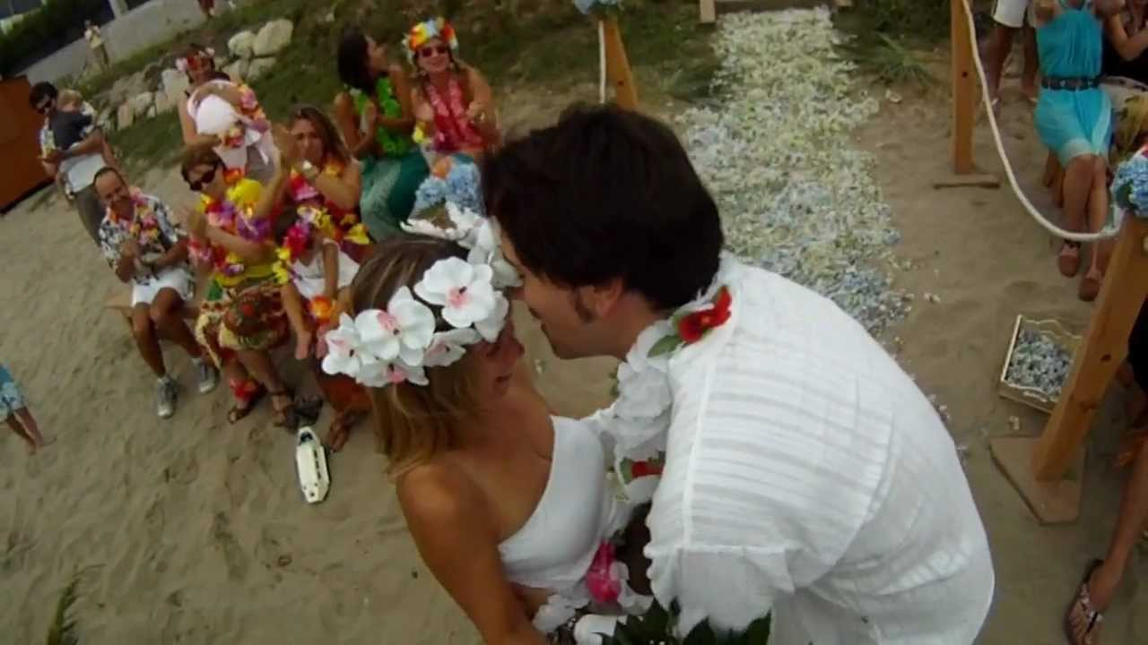 Boda Hawaiana en Samieira - YouTube