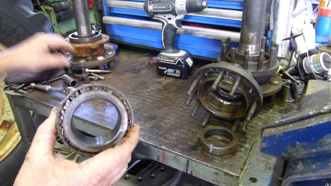 How To Replace Rear Axle Seals And Bearings On A Massey Ferguson 35x