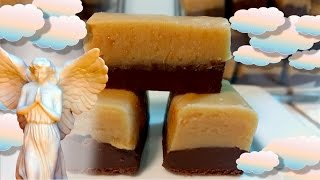 Heavenly Peanut Butter Chocolate Fudge (from a microwave!)