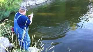 Surprise while Bluegill fishing