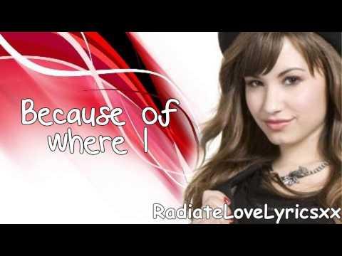 Demi Lovato:La La Land Lyrics