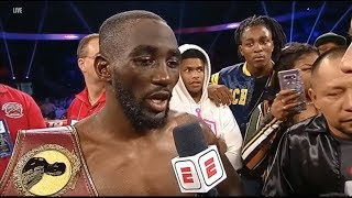 TERENCE CRAWFORD HATE GETTING OUT OF CONTROL