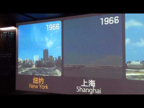 Shanghai's change since 1936
