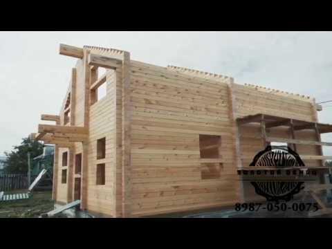 Использование пружинного узла СИЛА в строительстве дома из бруса