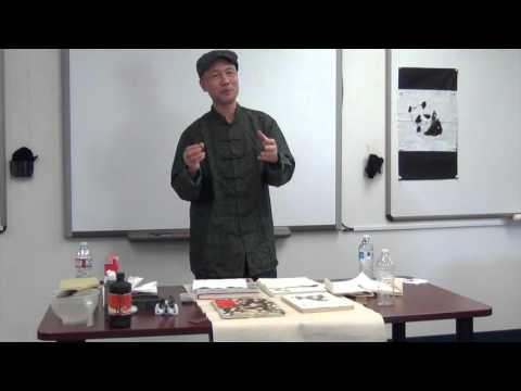 Chinese Calligraphy and Painting Workshop at Webb School's Unbounded Days 2016