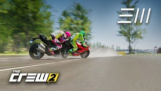 The Crew 2 - Kawasaki Ninja H2 vs Ducati Panigale R | Maxed Out Motorbikes Collide!