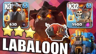 Th12 Lavaloon Attack Guide The BEST CoC 3 STAR Attack Battle Blimp  12홀완파 라벌미