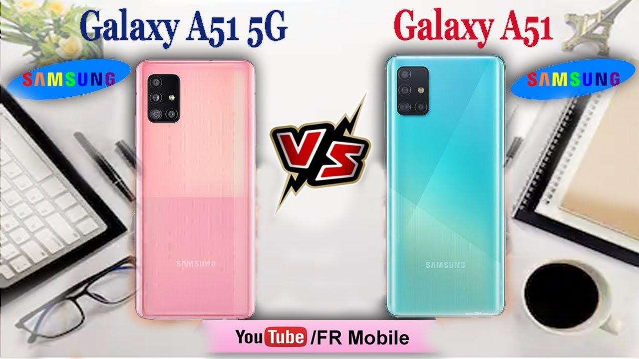 Samsung Galaxy A51 5G vs Samsung Galaxy A51: Watch Before ...
