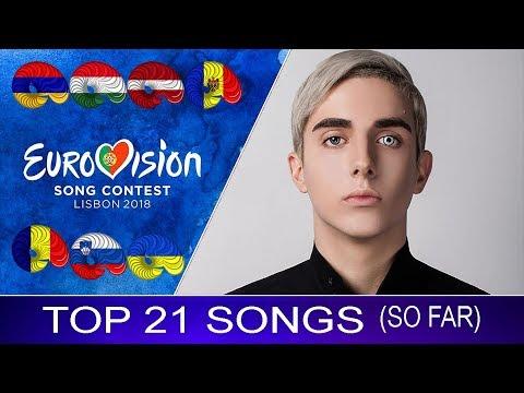 Eurovision 2018 | My Top 21 Songs (SO FAR)