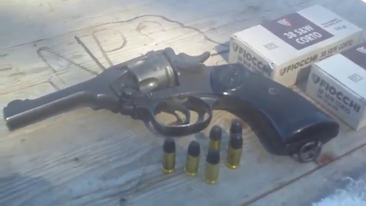 Range Day: Webley Mk IV Revolver