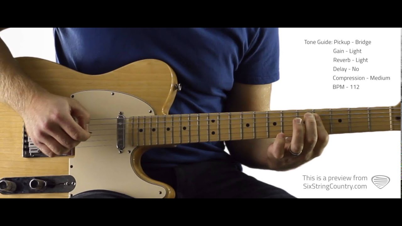 It Must Be Love Guitar Lesson And Tutorial Alan Jackson Youtube