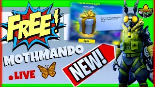 🆕MenamesCho's LIVE 🦋 MOTHMANDO - GIFTING FIRST ✨ NEW ✨ FORTNITE BATTLE ROYALE - Friday 30 11 2018