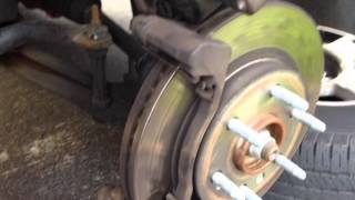 Brake and Rotor replacement on Chevy Suburban