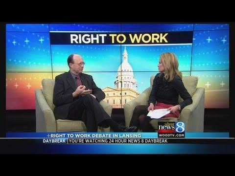 Law prof talks pot law, right-to-work