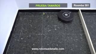 iRobot. Видео-тест на уборку мусора разного размера(Роботы-пылесосы iRobot Официальный дилер в Мурманске и МО ТРК