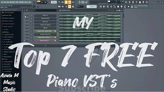 My Top 7 Free Piano VST