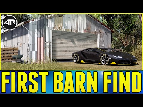 Forza Horizon 3 Demo POSSIBLE FIRST BARN FIND