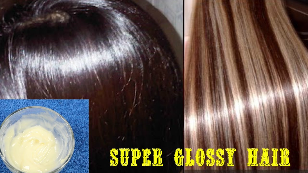 Get Super Silky Glossy Soft Hair In 1 Day Diy Hair Mask Deep Conditioner Youtube