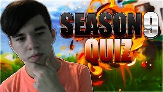 ULTIMATE SEASON 9 FORTNITE QUIZ! (Fortnite Creative Quiz)