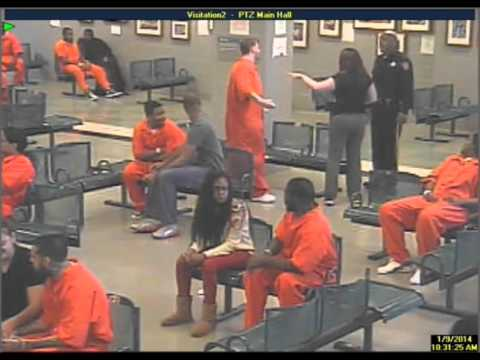 Former Philadelphia Prison Guard Tyrone Glover assaults prisoner John Steckley
