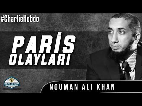 Charlie Hebdo Vakası - Paris [Nouman Ali Khan] [Türkçe Altyazılı | Mekteb-i Suffa]