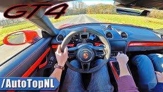 Porsche 718 GT4 Cayman | POV Test Drive by AutoTopNL