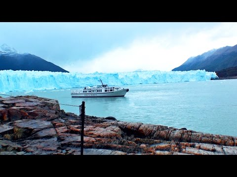 Glaciar PERITO MORENO, El Calafate, Argentina / Excursión en barco / Boat ride trip tour, travel