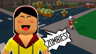 ROBLOX LET'S PLAY ZOMBIE RUSH - France RADIOJH GAMES - DOLLASTIC PLAYS