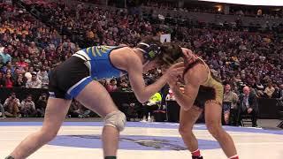 Dominick Serrano wins his fourth state wrestling title