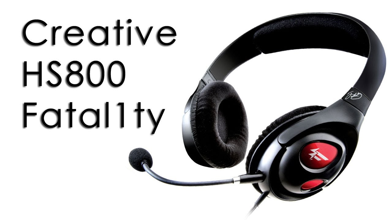 CREATIVE HEADSET FATAL1TY DRIVERS (2019)