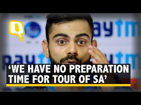 Kohli Slams BCCI: Too Much Cricket, No Time to Prepare For SA Tour | The Quint