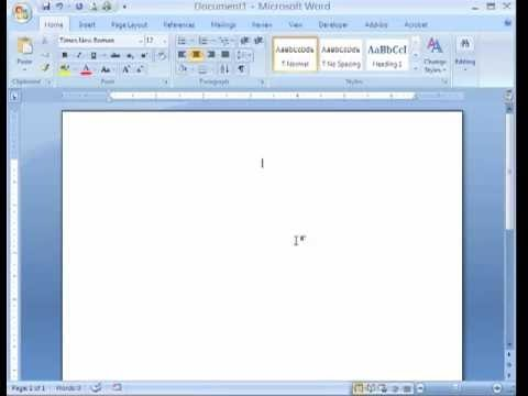MS Word 2007 Tutorial in Hindi - Styles Block, Find, Replace & Go To Function
