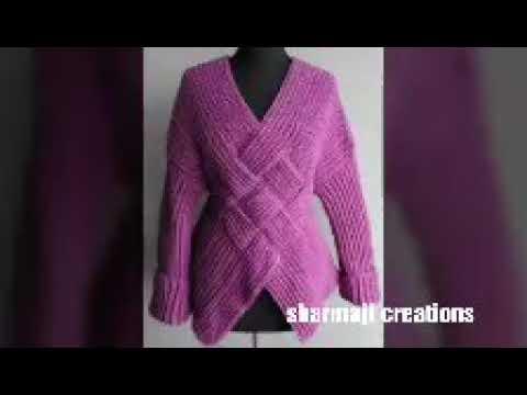 c9443de0f woolen sweater designs for ladies or women