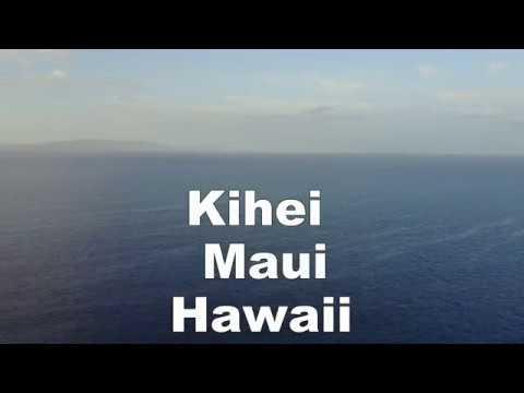 Kihei Hawaii Humpback whales 4K Mavic pro drone