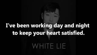 Repeat youtube video White Lie [Lyrics] - Jhameel