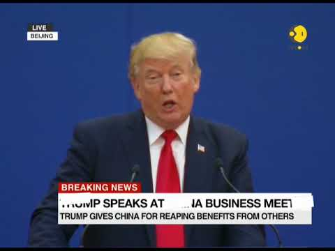 Breaking News: President Trump speaks at China business meet