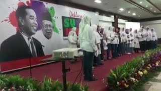 Download Video Super Jokowi Deklarasikan Dukungan Jokowi-Maruf Amin MP3 3GP MP4