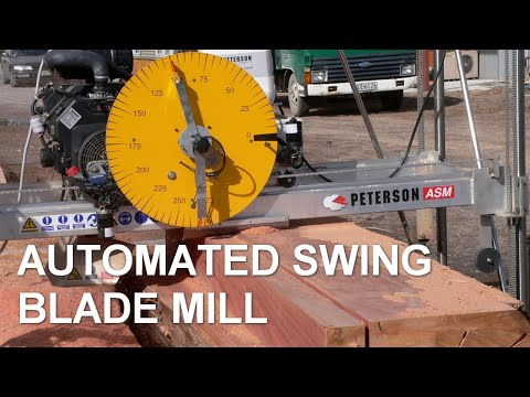 Portable Sawmills - Automated Swingblade Mill (ASM) Promo
