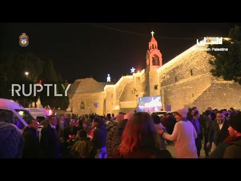 LIVE: Christians celebrate Christmas Midnight Mass in Bethlehem
