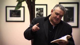 CONAL CREEDON Reading from The Cure - Imeall TG4