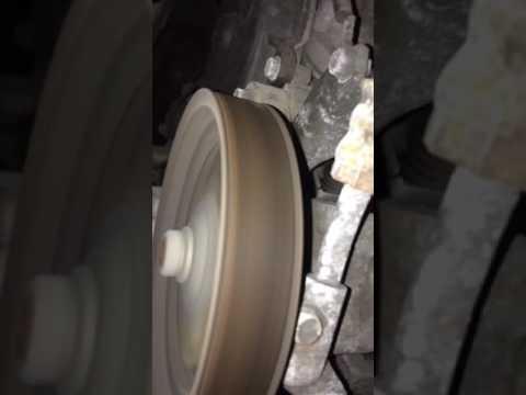 2006 Honda Pilot serpentine or timing belt tensioner noises at cold start