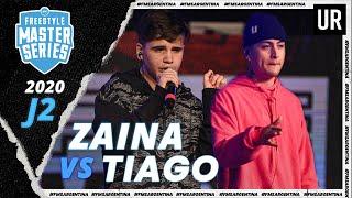 ZAINA vs TIAGO | FMS Argentina 2020 | Jornada 2 | Urban Roosters