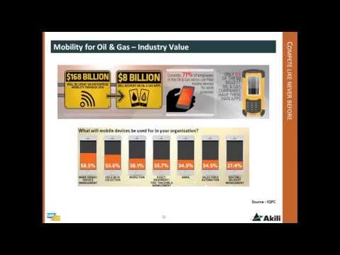 Mobility Delivers Value for the Oil & Gas Industry