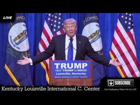 LIVE Donald Trump Kentucky Louisville International Convention Center FULL SPEECH HD March