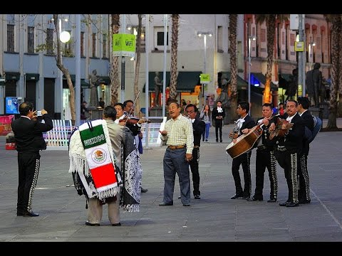 MEXICO - MEXICO CITY (PART 2) - PLAZA GARIBALDI - MARIACHI (Full HD)