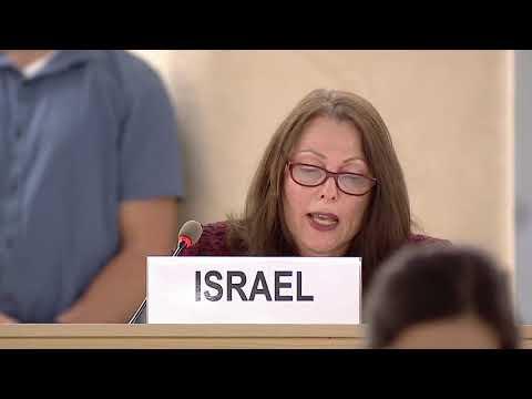 Israeli Ambassador Aviva Raz Shechter Addresses United Nations On Anti-Israel  Bias