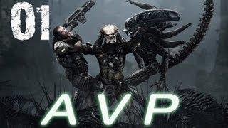ALIEN VS PREDADOR - [SÉRIE] PS3 PARTE 1 - Serpentes lazarentas e cabeça do portal