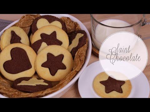 Vanilla Chocolate Cookies Recipe I Christmas Cookies I Saint Chocolate