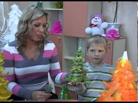 Детские новогодние поделки для детей от 3 до 6 лет